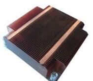 Buy cheap Round Heat sink Silver Cooler Copper Fin Heat Sink Aluminum Heat Sinks Cooling from wholesalers