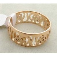 China 316L stainless steel ring with cutting flower LRX37 on sale