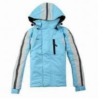 Cheap Hooded children's ski jacket, waterproof and breathable fabric, waterproof zipper for sale