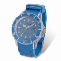 Cheap Analog Quartz Watch with Japanese Movement, Various Colors are Available for sale