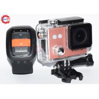 Cheap Wireless HD Action Camera With Remote Control Outdoor Waterproof Head Camera wholesale