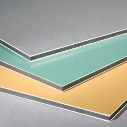 PE/PVDF aluminium composite panels