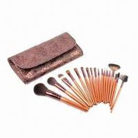 Cheap Promotional Makeup Kit with Wooden Handle for sale