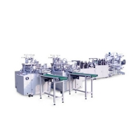 Cheap Disposable Three Layer Outer Earloop Mask Manufacturing Machine for sale