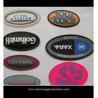 Cheap factory new product custom garment label silicone garment badge/rubber patch for sale