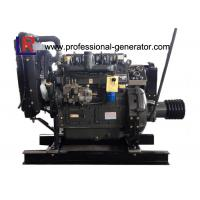 Cheap Water Cooled 41HP to 68HP Fixed Industrial Diesel Engines with 4 Cylinder 4 Stroke Electric Engine for sale