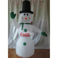 Inflatable abominable snowman christmas decoration of for Abominable snowman christmas light decoration