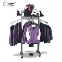China Customization Clothing Store Fixtures Clothes Retail Shop Rack Shop Fittings 4-way on sale