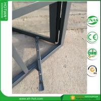 Cheap casement crank window handle steel casement windows with double tempered glass for sale