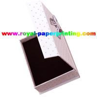 Cheap high quality customize luxury cosmetic / jewelry paper box printing for sale