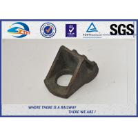 Quality Casting Iron with Clip Railway Fastening System accessories Rail Shoulder wholesale