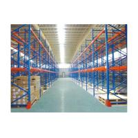 Cheap Custom selective pallet racking systems / adjustable industrial shelving racks for sale