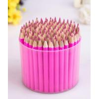 Cheap Best Selling TOP Quality Round Wooden 24 Colors Pencil In Tin Box for sale