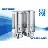 Cheap Luxury Liquid Soap Dispenser / Shampoo Dispensers For Body Wash , Hand Washing for sale