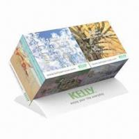 Cheap Promotional Duo Cube Calendar Monthly, Cube Measures 5x5x5cm for sale