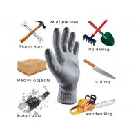 Cheap Level 5 HPPE Liner Coated Industrial Safety Products Cut Resistant Gloves 13 Gauge for sale