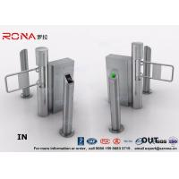 China Semi - Automatic Swing Barrier Gate Card Readers for Door Entry Pass System on sale