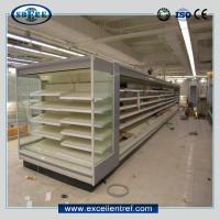 Cheap front open multideck refrigerator commercial showcase for supermarket for sale