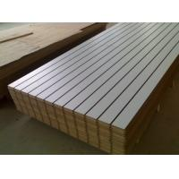Cheap China ACEALL Tableros MDF Ranurados Slotted Melamine Faced MDF Board for sale