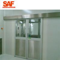 Cheap Automatic Sliding Door Cleanroom Air Shower System Tunnel With Custom Width for sale