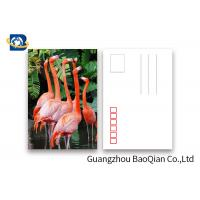 Cheap Promotion Cartoon 3d Lenticular Postcard / Flip Lenticular Image Printing for sale