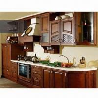 Cheap RTA Kitchen Cabinet, Made of Maple Wood, UV Finish, Plywood for Cabinet Carcass for sale