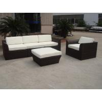 Cheap Garden / Beach Resort 5pcs Outdoor Wicker Sofa for sale