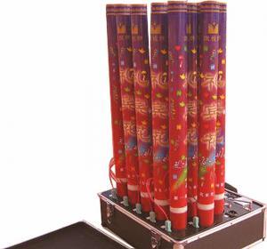 China Electric confetti Emitter confetti machine for single shot or multi shot on sale