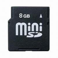 Cheap Mini SD Card with 10 Years Data Retention, High-transfer Rate for Fast Copy/Download, OEM Service for sale