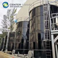 Cheap Eco - Friendly Bolted Steel Sewage Storage Tank For Sewage Treatment Plant for sale