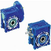 Cheap Mechanical NMRV Worm Transmission Reverse Gearbox With Motor , Solid Shaft for sale