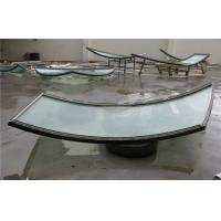 Cheap Curved Thermal Insulated Glass For Building , Sound Insulation for sale