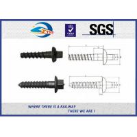 China railway sleeper spike ground screw on sale