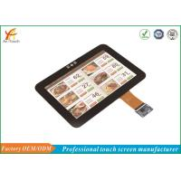 Buy cheap Multi Point LCD CTP Touch Screen , Cover Glass Touch Panel Display 60Hz from wholesalers
