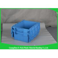 45L New PP Nested Plastic Storage Boxes With Lids , Light Weight Plastic Storage Bins