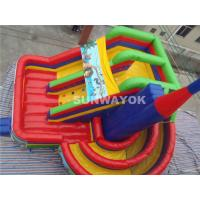 Cheap Ice Age Theme Giant Commercial Inflatable Slide / Inflatable Boucy Castle Slide With Much Fun for sale