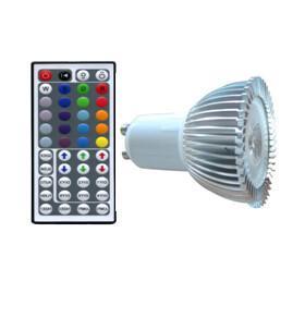 China 3*1W RGB GU10 led spot light on sale
