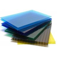 Cheap 10 Years Warranty Cellular Polycarbonate Double Wall Polycarbonate Hollow Sheet for sale
