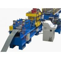 Cheap 15KW 24 Stations Angle Rolling Machine , Rack Roll Forming Machine Hydrualic Shear for sale