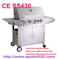 Cheap Stainless Steel Gas BBQ Grill 6 burners for sale