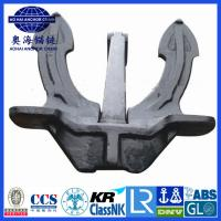 Cheap Marine Japan stockless Anchor with KR LR BV NK ABS DNV certification for sale