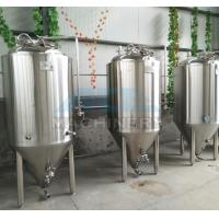 Cheap 1000L Red Copper Shell Inner Stainless Steel Three Vessels Brewhouse with PU Instualtion for sale