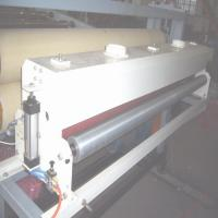 Recycled Grains Plastic Sheet Extrusion Machine For Calendar Line