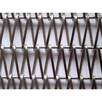 Cheap Stainless Metal Architectural Wire Mesh Conveyor Belt Facade Decoration for sale