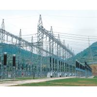 Electric Power Transmission Structures : Electric steel framed structures distribution substation