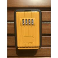 Cheap Digital Combination Outdoor Door Key Safe Box Black & Yellow for sale