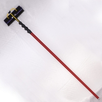 China Telescoping 3K 15m Carbon Fiber Extension Pole With Goose Neck on sale