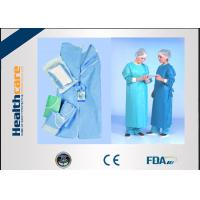 Cheap SMMMS / SMMS Disposable Surgical Gowns Medical Scrubs Acid Proof Free Samples for sale