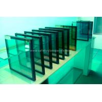 Cheap Decorative Thermopane Insulated Glass Thermal Insulation For Storefront / Ceiling for sale