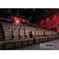 Cheap Digital 4D Movie Theater / Cinema Equipment For Hollywood Bollywood Movies for sale